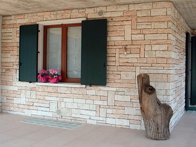 muri in pietra per esterno in Pietra della Lessinia (o di Prun)