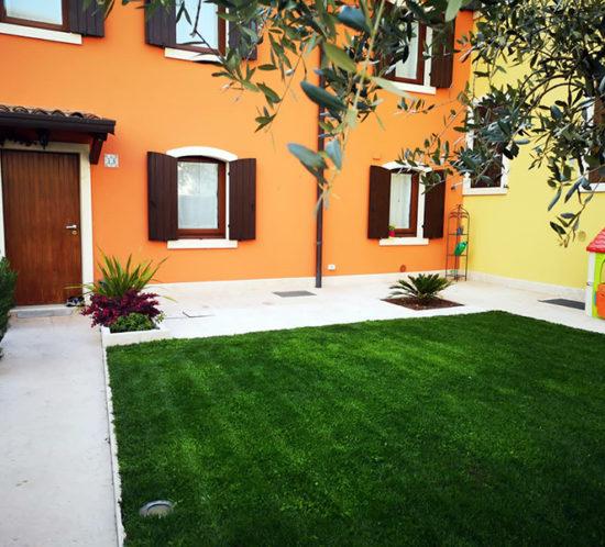 Pavimento esterno per giardino in pietra di prun o della lessinia