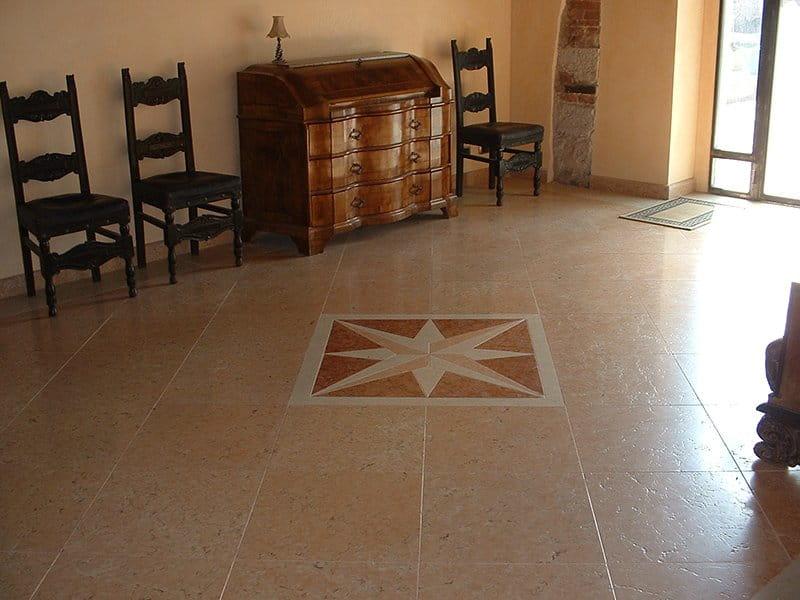 Pavimento in Pietra della Lessinia o di Prun, stile rustico