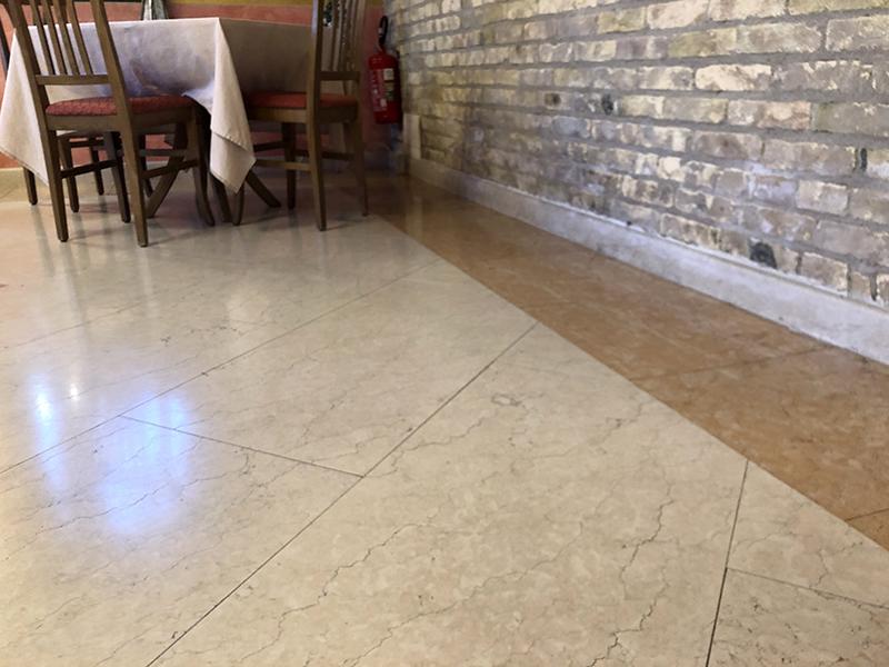 pavimento per interno in pietra - dettaglio