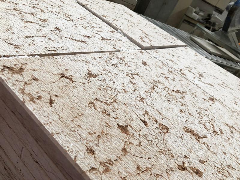 pavimento rullato pietra della lessinia o di prun